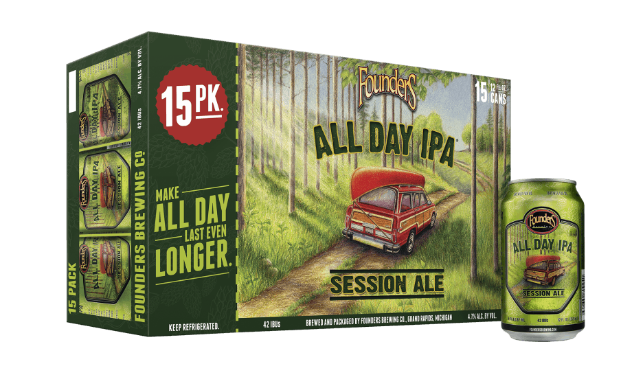 Founders Brewing Company, Michigan - All Day IPA