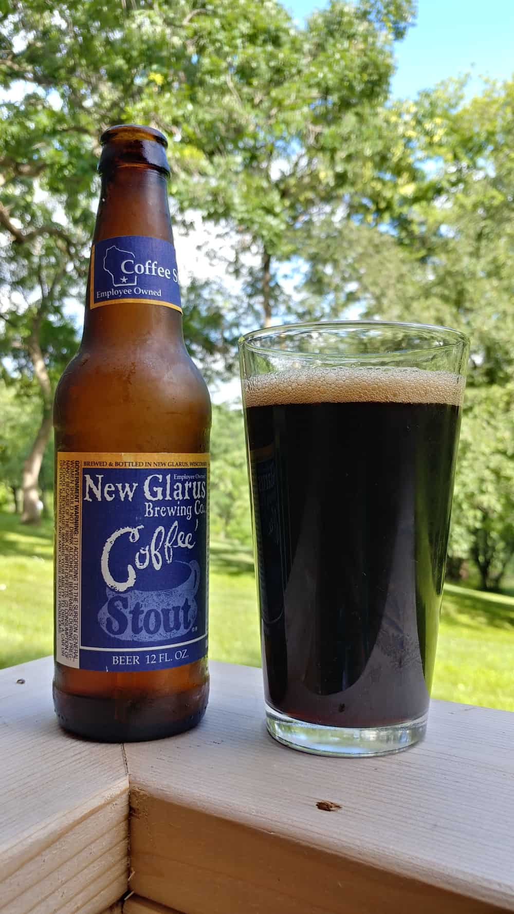 New Glarus Brewing Company, Wisconsin – Coffee Stout