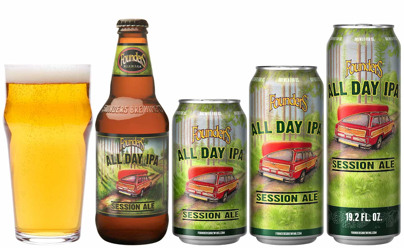 Founders Brewing Co. All Day IPA