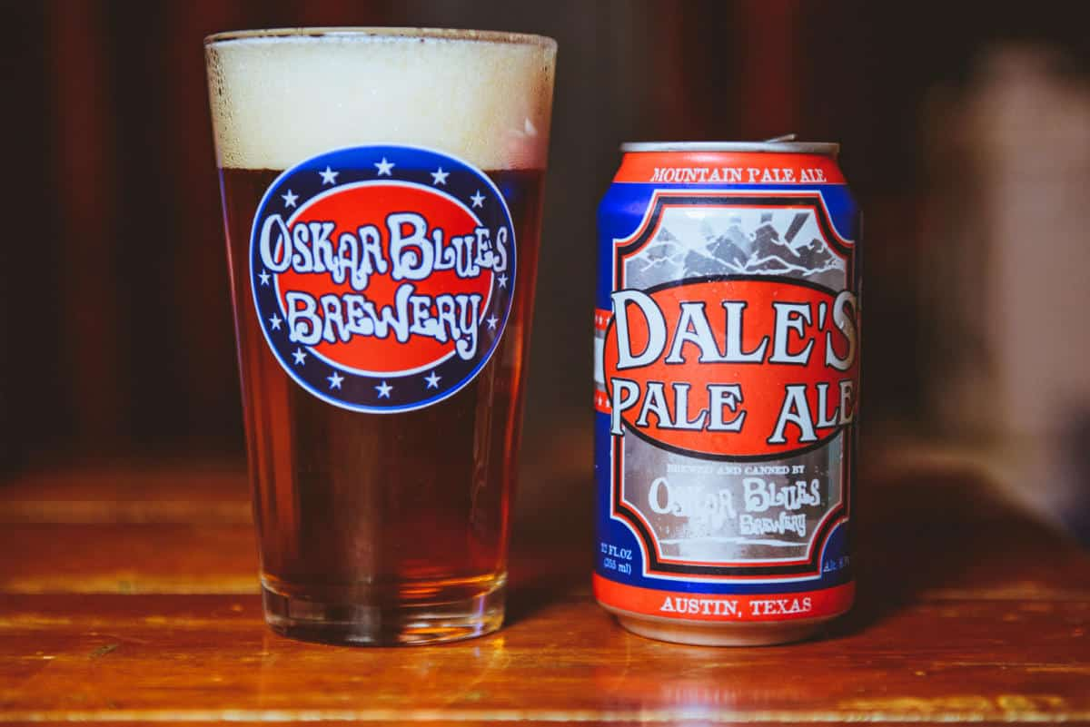 Oskar Blues Brewery Dale's Pale Ale