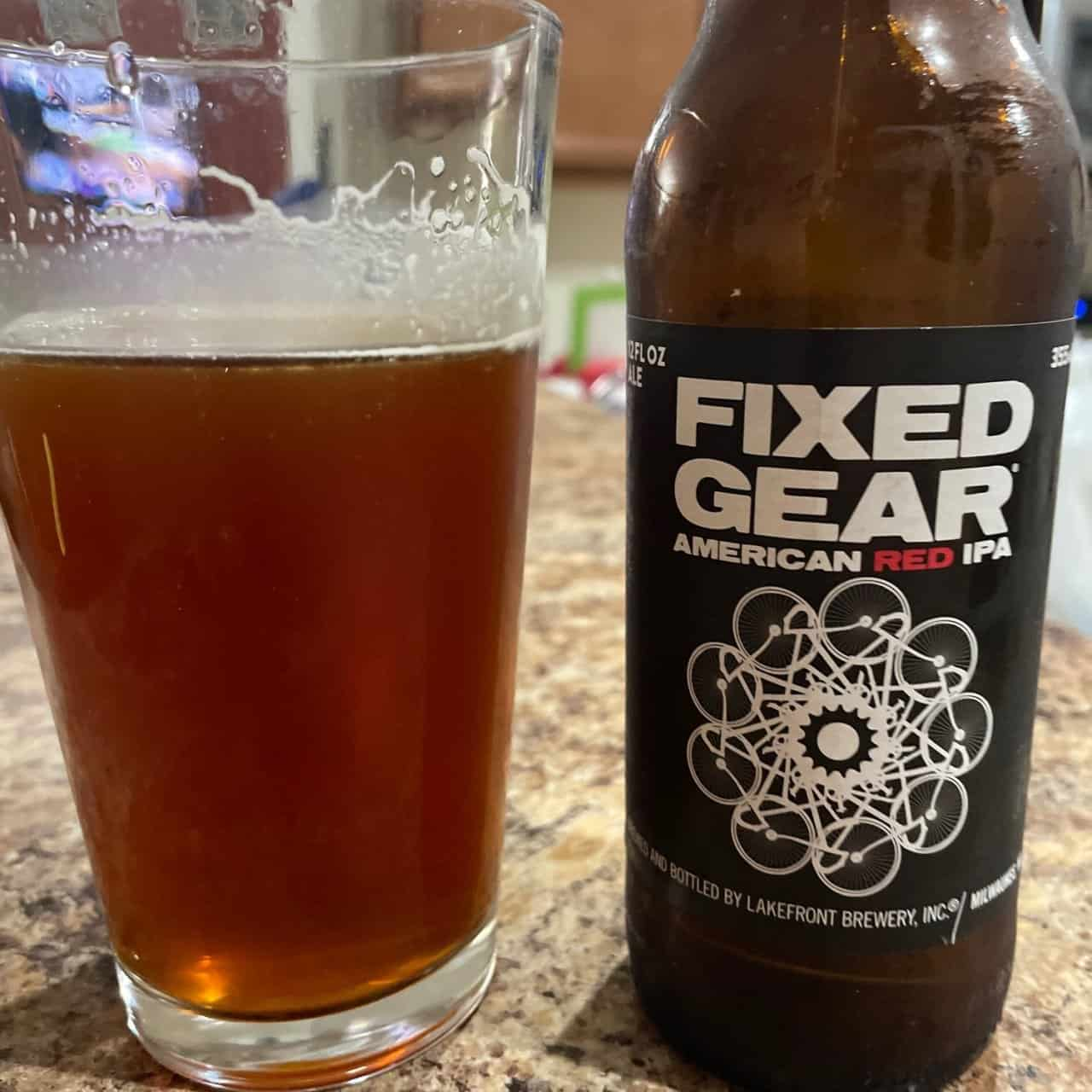 Fixed Gear Red IPA