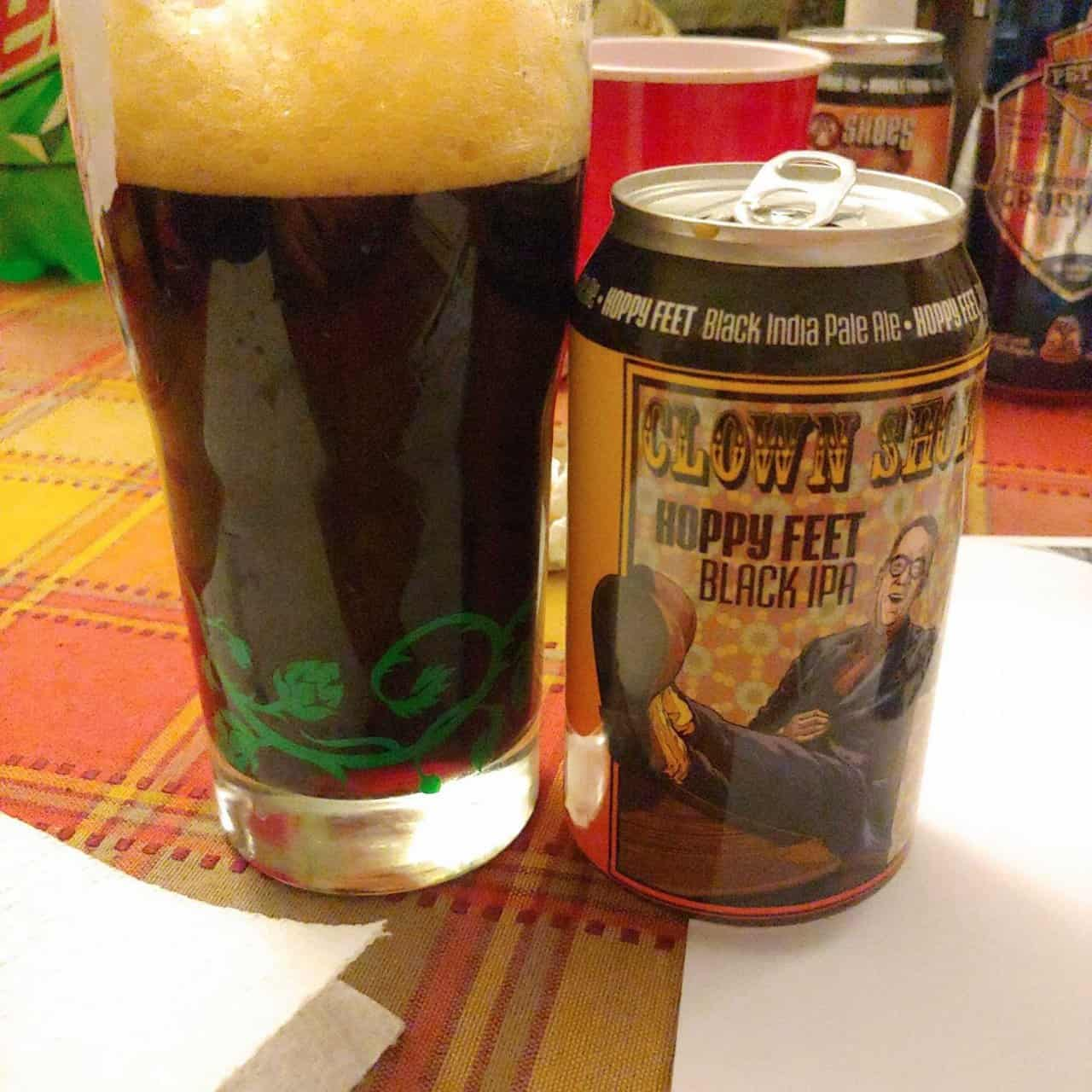 Hoppy Feet Black IPA