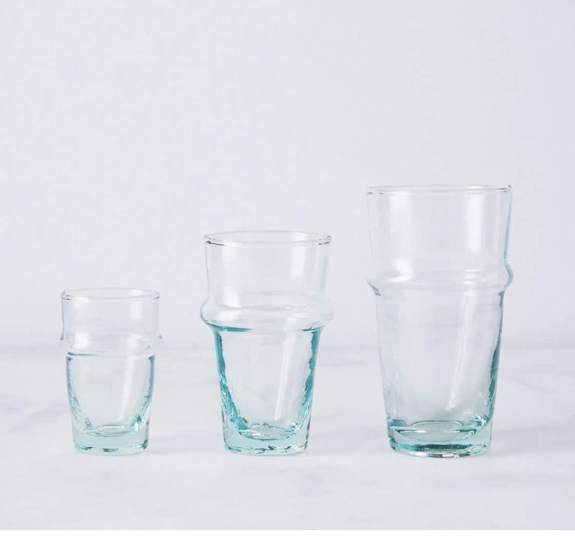 Kessy Beldy Moroccan Recycled Bottle Glasses